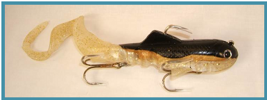 Musky Swimbait SuperD lure