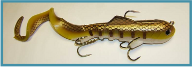 Swimbait musky pike lure