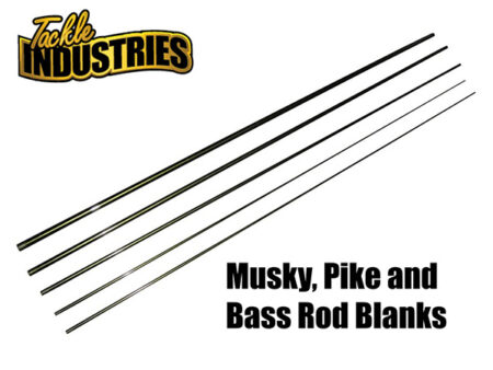Musky, Pike, Bass, Walleye and Crappie Fishing Rods