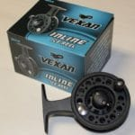 Vexan inline ice fishing reel in-line