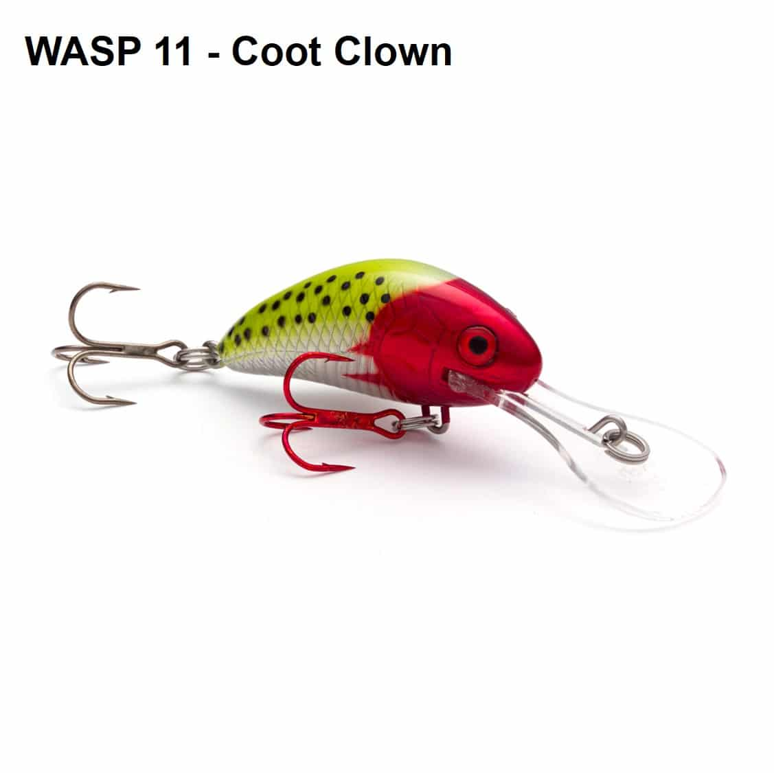 WASP Walleye and Bass Crankbait - Tackle Industries