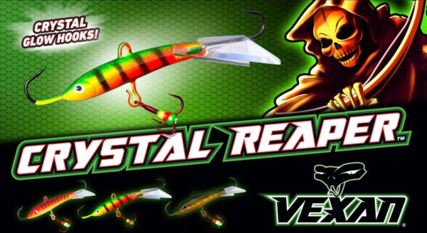 Crystal Reapers jigging minnow