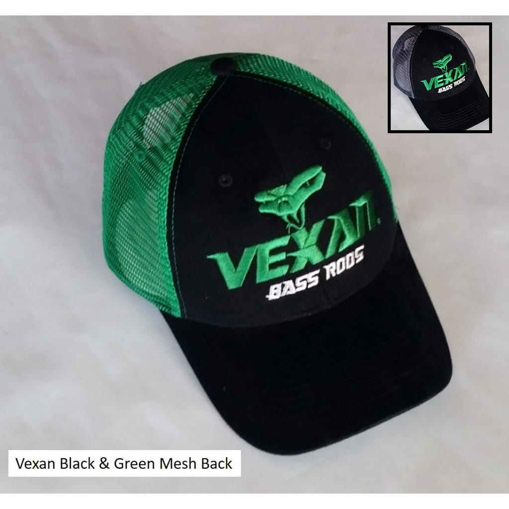 Vexan Bass Rods Mesh Back Trucker Hat